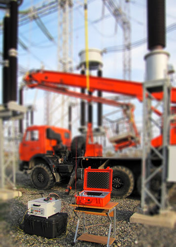 overhead cable measuring system