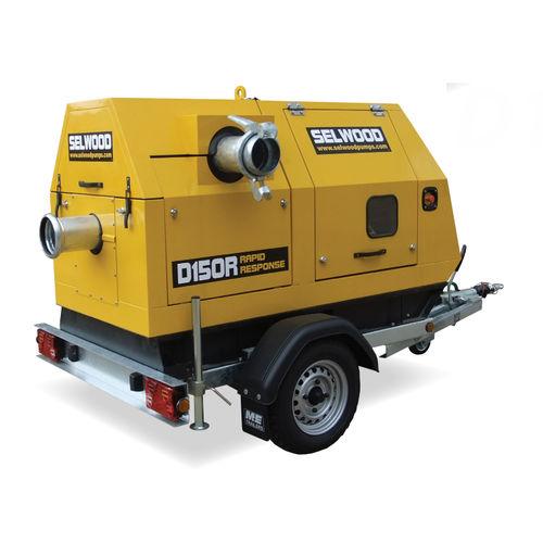 water pump / diesel engine / self-priming / centrifugal