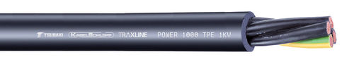 power cable / abrasion-resistant / UV-resistant / insulated