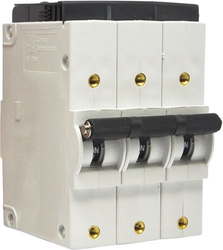 hydraulic-magnetic circuit breaker / voltage / modular / compact