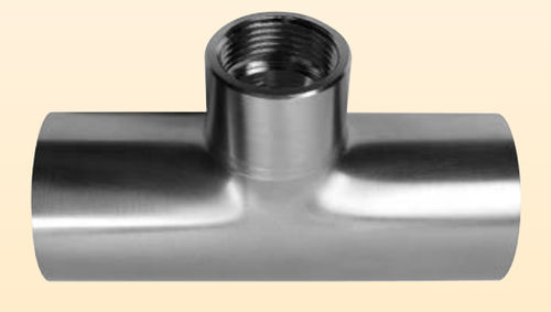 threaded fitting / straight / 90° angle / stainless steel
