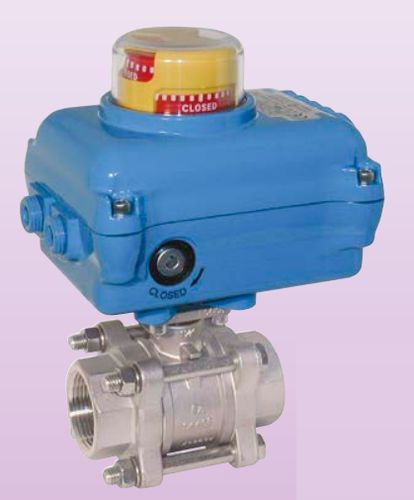 ball valve / electrically-actuated / isolation / stainless steel