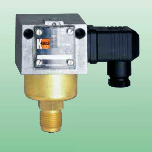 liquid pressure switch / bellows / differential / stainless steel