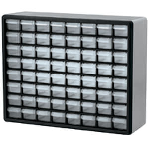 storage cabinet / wall-mount / with drawer / metal