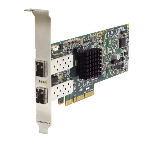 PCIe network interface card / gigabit Ethernet / for fiber optics