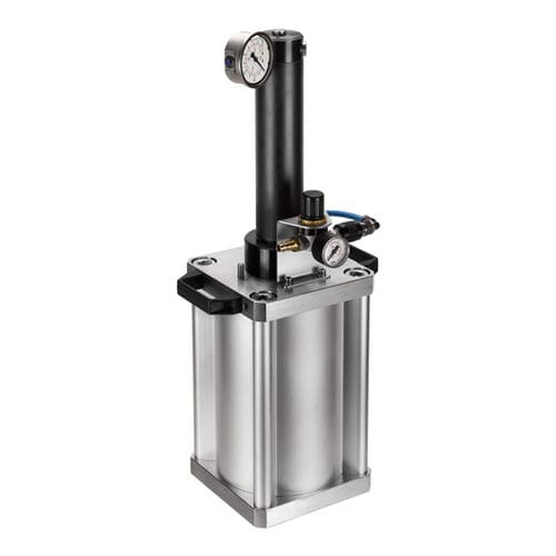 pneumatic pressure multiplier / compact / for hydraulic systems