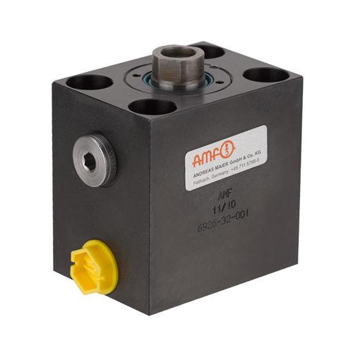 hydraulic cylinder / piston / single-acting / steel