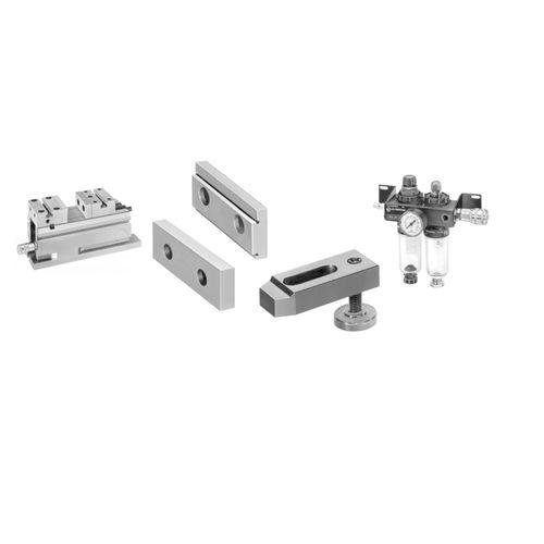 machine tool vise / pneumatic