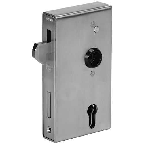 bolt lock / for sliding doors / stainless steel / zinc