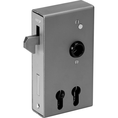 bolt lock / for sliding doors / gate / zinc