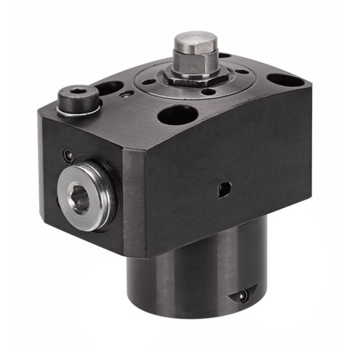 hydraulic cylinder / clamping / flange / steel