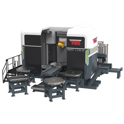 3-axis machining center / horizontal / high-performance / milling