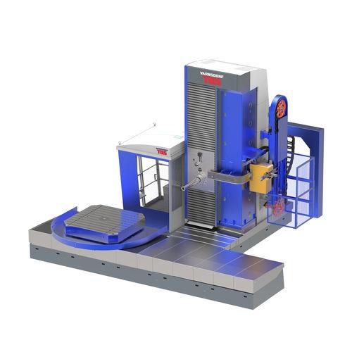 CNC boring mill / horizontal / 5-axis