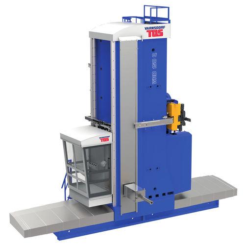 CNC boring mill / horizontal / 4-axis / column type