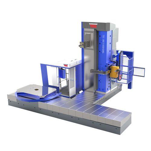 CNC boring mill / horizontal / 6-axis