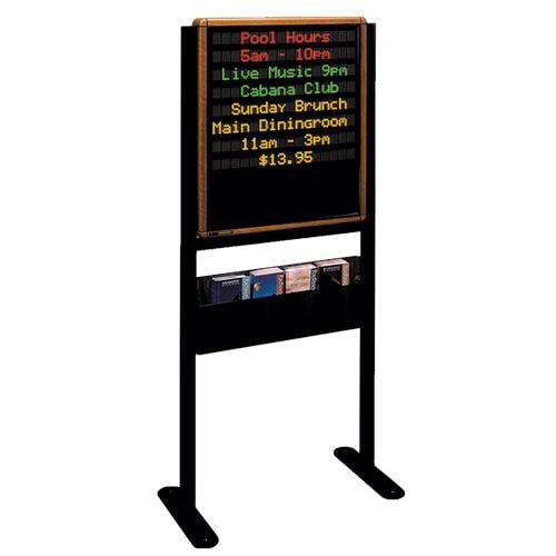 LED display / dot-matrix / 17-segment / RS485