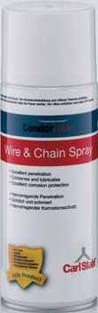 synthetic oil / for chain / cable / aerosol