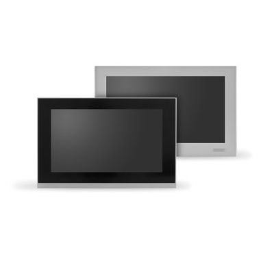 LCD monitor / touch / full HD / panel-mount