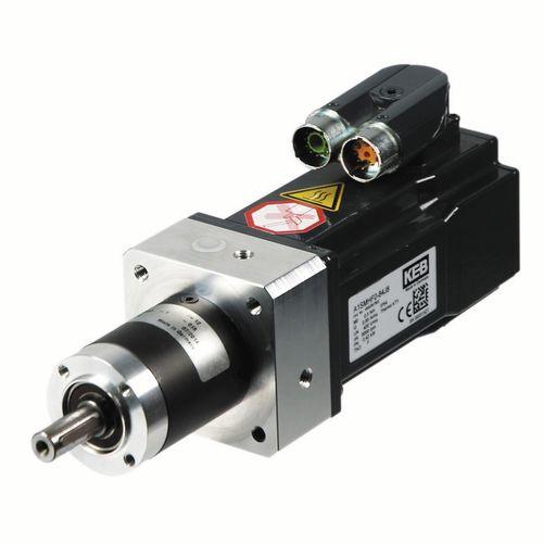 AC servo-gearmotor / coaxial / planetary