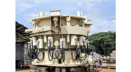 cone crusher / stationary / secondary / for mineral material