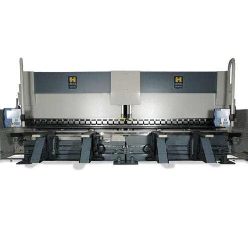 Hydraulic press brake / CNC max. 12 000 kN | HDSY series Haco
