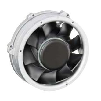 electronic fan / diagonal / cooling / industrial