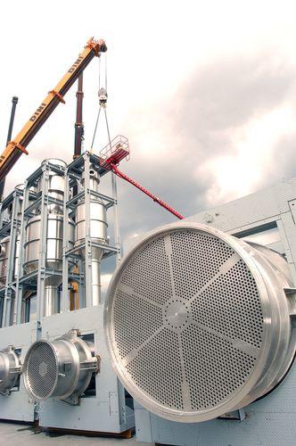 thermal evaporator / process / for liquids