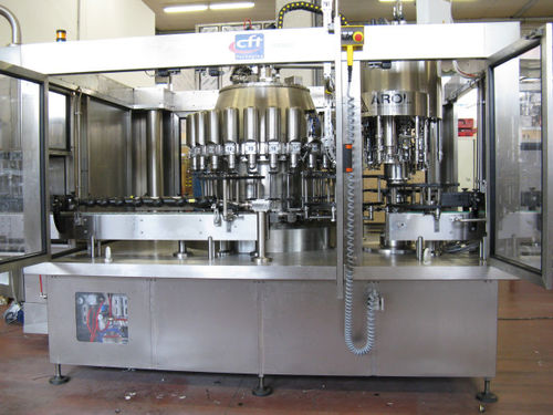 industrial filling machine / for edible oil / bottle / automatic