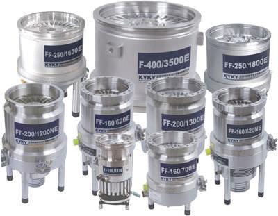 turbomolecular vacuum pump / lubricated / single-stage