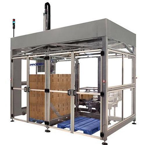 Cartesian palletizer / case / for cardboard boxes / modular
