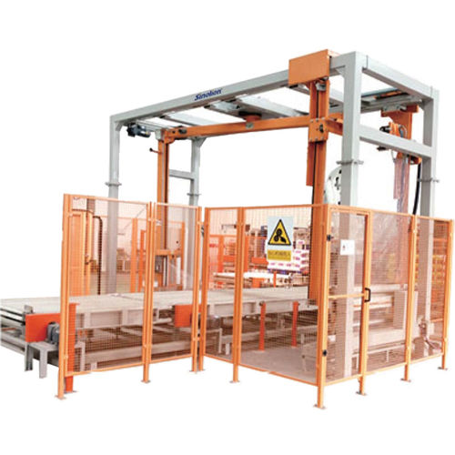 rotary arm stretch wrapper / fully automatic / for industrial applications / for the food and beverage industry