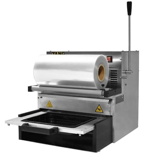linear array tray sealer / manual / for the food industry