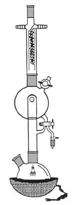 solvent distillation unit / laboratory