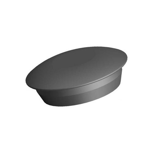 round plug / male / rubber / snap-on