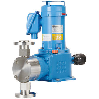 chemical pump / electric / plunger / two-stage
