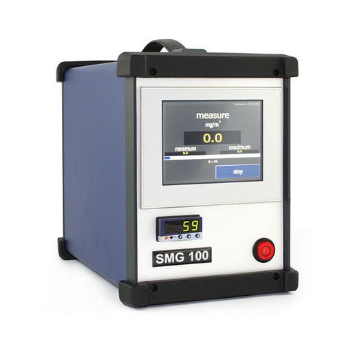 concentration monitoring system / emissions / dust / real-time