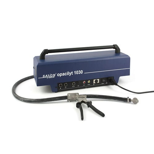exhaust gas analyzer / concentration / density / compact