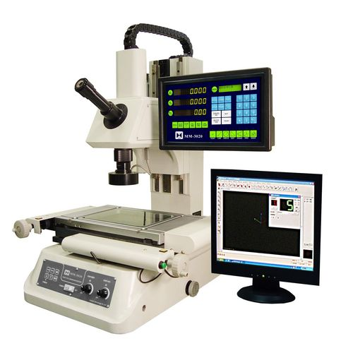Optical microscope / measuring / digital camera / for measuring and inspection Max.300x200mm | MM series Leader Precision Instrument Co. Ltd