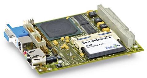 PC 104 single-board computer / AMD Geode LX series / embedded / fanless