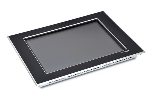 LCD/TFT monitor / with touchscreen / panel-mount / dust-proof
