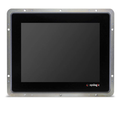 Panel PC with touch screen / 1024 x 768 / Intel® Atom / fanless HMI system | Projective Capacitive Touch TFT/HOxxxPU7 Syslogic GmbH