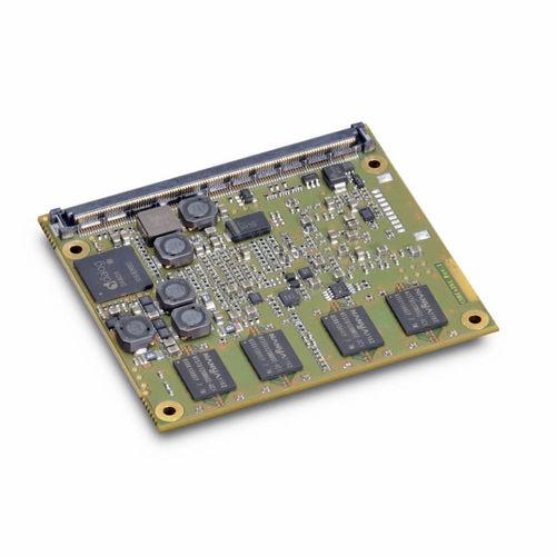 Intel® Atom computer-on-module / DDR SDRAM / SATA / PCI Express