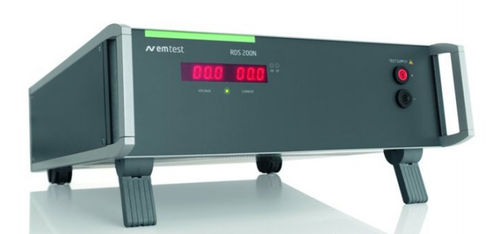 AC/DC power supply: benchtop voltage rectifier 16 V, 10 A | EM Test RDS 200N AMETEK Programmable Power