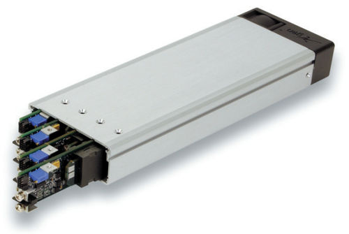 AC/DC power supply: rack-mount voltage rectifier for medical applications 200 - 750 W | Xmite series Excelsys