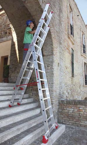 aluminum multi-purpose ladder 204 - 1 055 cm | S3/EM series IMA Farone