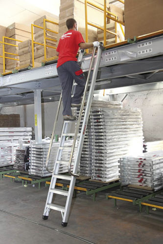 aluminum single ladder 300 - 400 cm | SELLA series IMA Farone