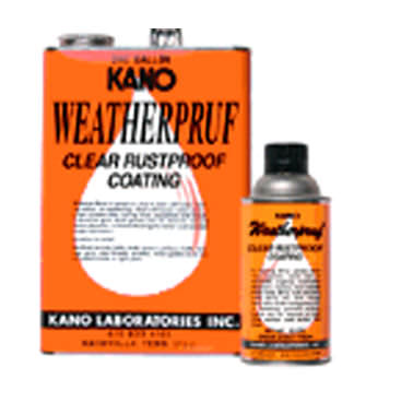 anti-corrosion product Weatherpruf KANO
