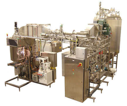 aseptic V-FFS bagging machine for liquids max. 20 - 90 p/min | FSU-1000 Fres-co System USA, Inc.