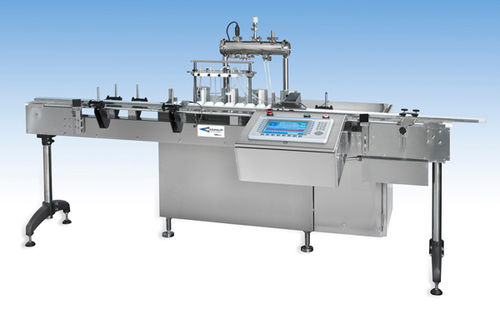 automatic linear filler for liquids VR2PP series Cozzoli Machine Company