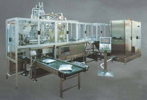 automatic sachet filler and sealer for liquids 8 - 80 p/min | G90 GS, GL-90V Fres-co System USA, Inc.